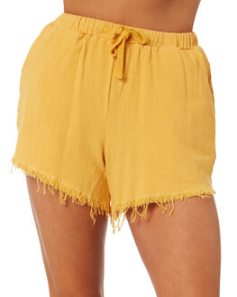 MUSTARD WOMENS CLOTHING SWELL SHORTS - S8171233MSTRD