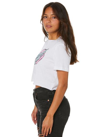 WHITE WOMENS CLOTHING SANTA CRUZ TEES - SC-WTD0286WHT