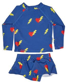 BLUE KIDS BABY TINY TRIBE CLOTHING - TTS17-11004SMBLU