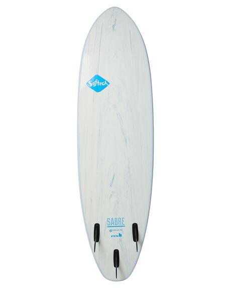ICE BLUE BOARDSPORTS SURF SOFTECH SOFTBOARDS - SABRE-IBM-066IBLU