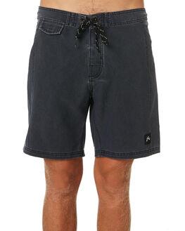 BLACK MENS CLOTHING RUSTY BOARDSHORTS - BSM1169BLK