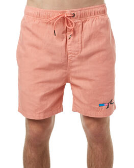 BURNT CORAL MENS CLOTHING RUSTY SHORTS - WKM0900BCOR