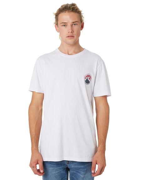 WHITE MENS CLOTHING RUSTY TEES - TTM2151WHT