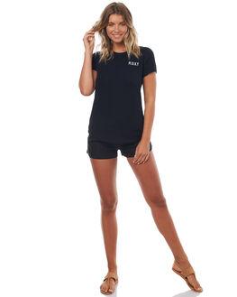 ANTHRACITE WOMENS CLOTHING ROXY SHORTS - ERJNS03106KVJ0