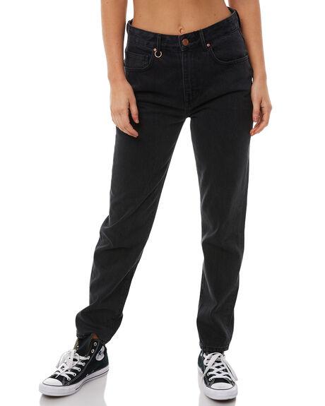 STONED BLACK WOMENS CLOTHING NEUW JEANS - 376731171