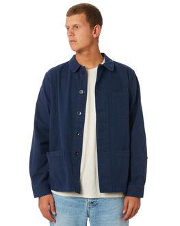 NAVY MENS CLOTHING MOLLUSK JACKETS - MS14133NVY