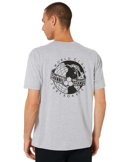 ATHLETIC HEATHER MENS CLOTHING CHANNEL ISLANDS TEES - 20611100063ATHTR