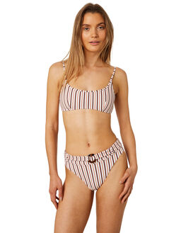 STRIPE WOMENS SWIMWEAR TIGERLILY BIKINI BOTTOMS - T395594STRP