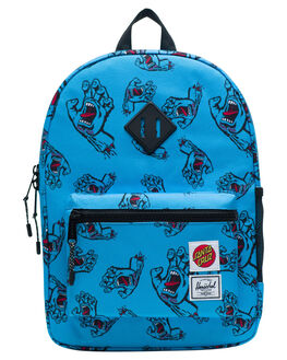SANTA CRUZ BLUE KIDS BOYS HERSCHEL SUPPLY CO BAGS + BACKPACKS - 10312-02573-OSSCB