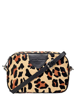 LEOPARD WOMENS ACCESSORIES STATUS ANXIETY BAGS + BACKPACKS - SA7259LEO