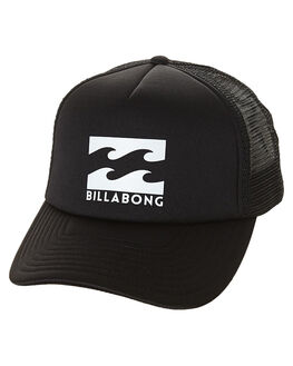 BLACK WHITE MENS ACCESSORIES BILLABONG HEADWEAR - 9675306ABKWH