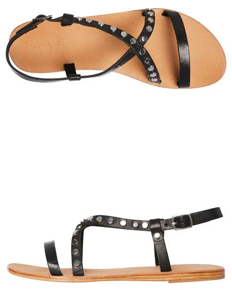 BLACK WOMENS FOOTWEAR URGE FASHION SANDALS - URG17165BLK