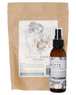 NATURAL WOMENS ACCESSORIES CEDAR AND STONE BODY PRODUCTS - SP18CEDGIFTPKNAT