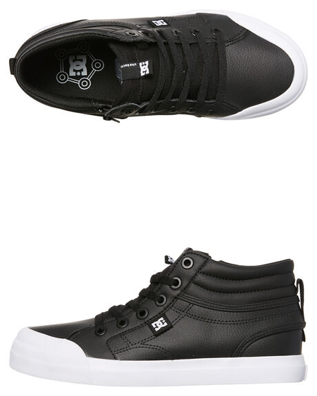 BLACK KIDS BOYS DC SHOES SNEAKERS - ADBS300307BLK