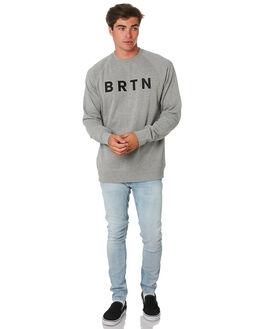 GRAY HEATHER MENS CLOTHING BURTON JUMPERS - 137171020