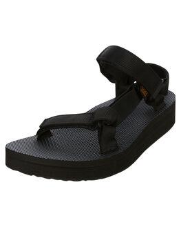 BLACK WOMENS FOOTWEAR TEVA FASHION SANDALS - T1090969BLK