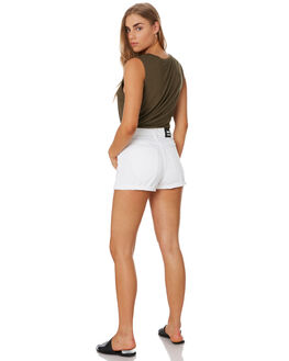 WHITE OUTLET WOMENS DR DENIM SHORTS - 1610103-199