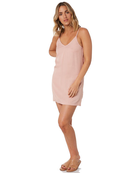 MISTY ROSE WOMENS CLOTHING RUSTY DRESSES - DRL1053-MYE