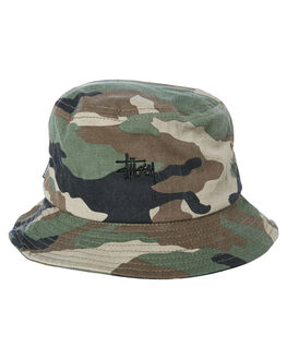 CAMO MENS ACCESSORIES STUSSY HEADWEAR - ST783007CAMO