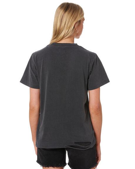 VINTAGE BLACK WOMENS CLOTHING THE PEOPLE VS TEES - W20W011VBLK