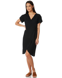 BLACK WOMENS CLOTHING ALL ABOUT EVE DRESSES - 6423004BLK
