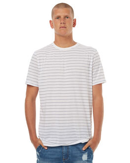 WHITE MENS CLOTHING RIP CURL TEES - CTEHD21000