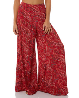 ARIZONA RED WOMENS CLOTHING TIGERLILY PANTS - T385370RED