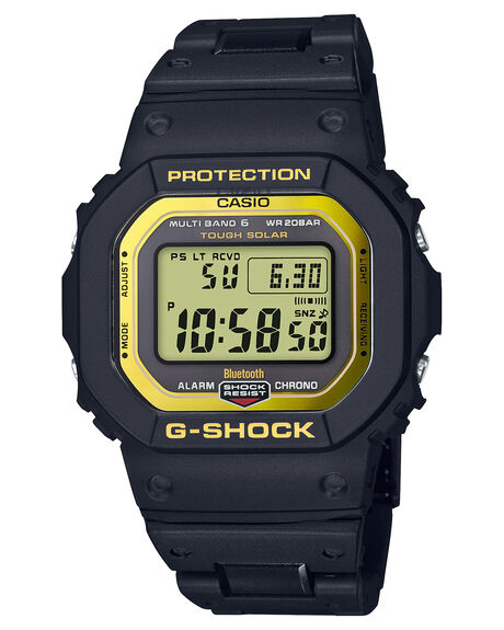 BLACK GOLD MENS ACCESSORIES G SHOCK WATCHES - GWB5600BC-1DRBLKG2