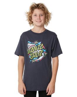 PHANTOM KIDS BOYS SANTA CRUZ TEES - SC-YTD7045PHANT