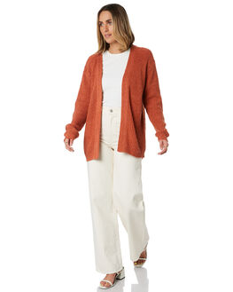 RUST WOMENS CLOTHING SWELL KNITS + CARDIGANS - S8203147RUST