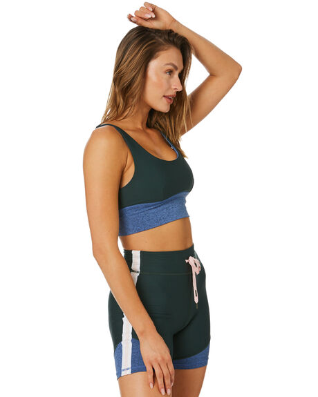 GREEN WOMENS CLOTHING THE UPSIDE ACTIVEWEAR - USW121058GRN