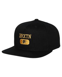 BLACK MENS ACCESSORIES BRIXTON HEADWEAR - 10411BLACK