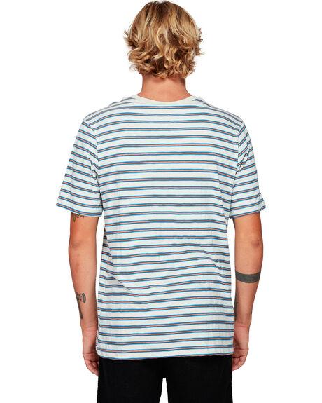 SILVER BLEAC MENS CLOTHING RVCA TEES - RV-R192061-SVA