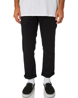 BLACK MENS CLOTHING VOLCOM PANTS - A1131807BLK