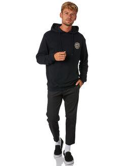 BLACK MENS CLOTHING SANTA CRUZ JUMPERS - SC-MFA9102BLK