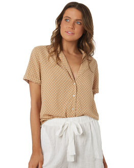 SAND WOMENS CLOTHING RHYTHM FASHION TOPS - OCT18W-WT03SAN