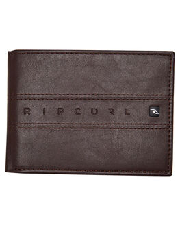 BROWN MENS ACCESSORIES RIP CURL WALLETS - BWUHC10009