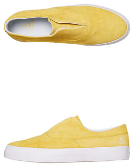YELLOW MENS FOOTWEAR HUF SNEAKERS - VC00080-YELLW
