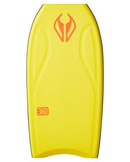 YELLOW BOARDSPORTS SURF NMD BODYBOARDS BOARDS - N19THREE42YEYELWH