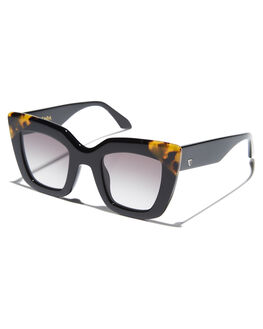 GLOSS BLACK TORT MENS ACCESSORIES VALLEY SUNGLASSES - S0447GBLK