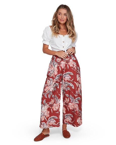 RUST WOMENS CLOTHING BILLABONG PANTS - BB-6503433-R02