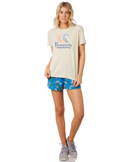 OYSTER WHITE WOMENS CLOTHING PATAGONIA TEES - 38476OYWH