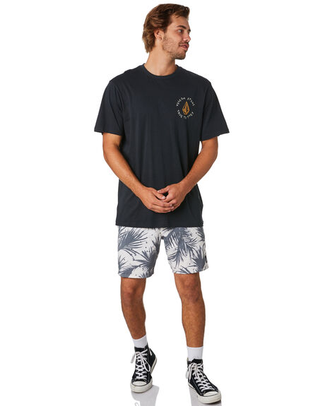 BLACK COMBO OUTLET MENS VOLCOM TEES - A504188GBLC