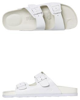 f24eec9b2d2ff WHITE WOMENS FOOTWEAR ROC BOOTS AUSTRALIA SLIDES - BAHAMAWHT