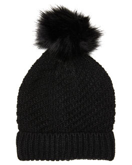 BLACK WOMENS ACCESSORIES BETTY BASICS HEADWEAR - BB939W20BLK