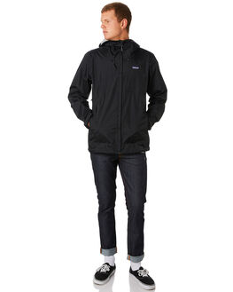 BLACK MENS CLOTHING PATAGONIA JACKETS - 83802BLK