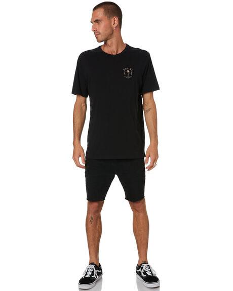 BLACK MENS CLOTHING HURLEY TEES - HAS1006B016