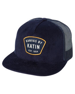 NAVY MENS ACCESSORIES KATIN HEADWEAR - HTPOR02NVY