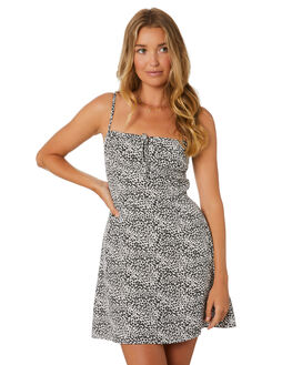 FLORAL WOMENS CLOTHING LULU AND ROSE DRESSES - LU23900FLORAL