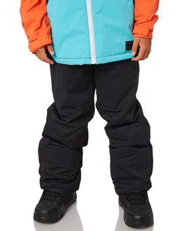 BLACK CAVIAR BOARDSPORTS SNOW BILLABONG KIDS - L6PB01SBLKCA
